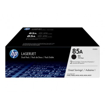 HP 2x Toner CE285A black